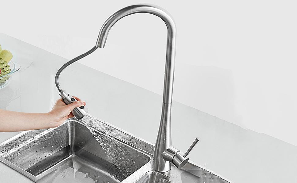 Pull Down Faucet Spray Head