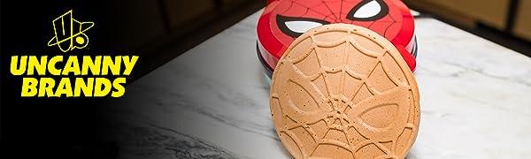 Spider Man Waffle Maker Banner
