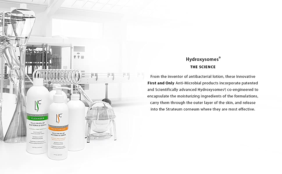 Laboratory Skin Care Hydroxysomes products - The Science.
