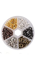 Stainless Steel Open Jump Rings Connectors 1mm Thick Chainmail Making