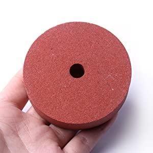 3 Inch 75mm Emory Style Grinding Stone Wheel Grit 120 For Bench Grinders Fine