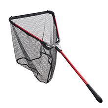 Folding Aluminum Fishing Landing Net Fish Net with Extending Telescoping Pole Handle (23-37 inches)