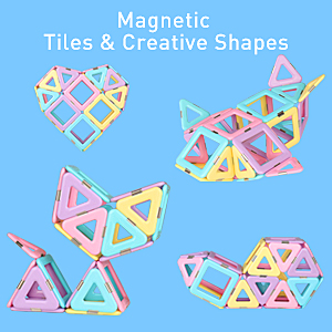 Magnetic Tiles & Creative Shapes