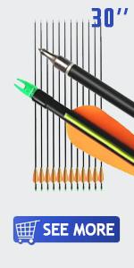 30 inch arrows compound bow nocks archery recurve bows carbon arrow arrows recurve hunting arrow