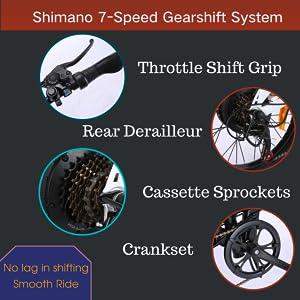 7-speed Shimano System