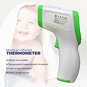 thermometer :: baby thermometer :: digital thermometer :: forehead thermometer ::