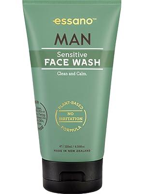 essano man sensitive face wash cleanser