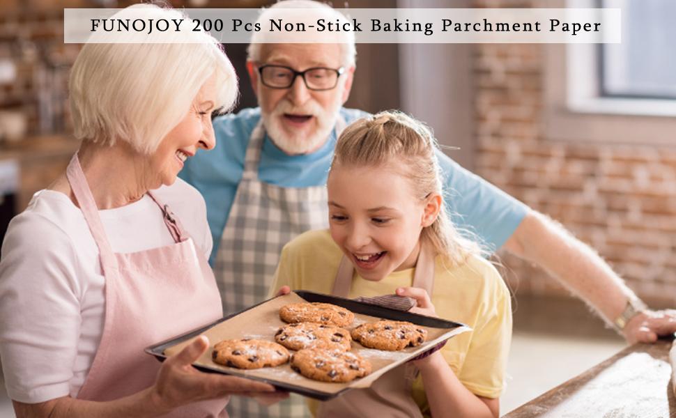 Parchment Paper Baking Sheets 200