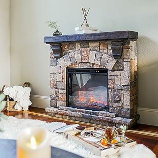 e-Flame USA Portable Electric Fireplace
