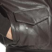 Landing Leather Dual Entry Pocket