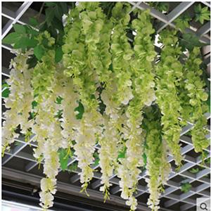 Hanging Garland Silk Long Hanging Bush Flowers