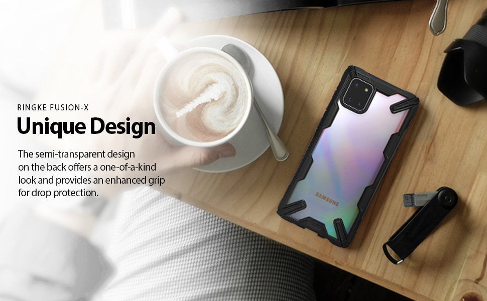 Ringke Fusion X Case Designed for Galaxy Note 10 Lite (2020)