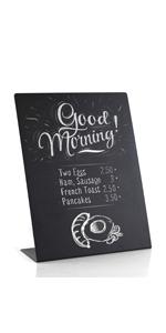 Mini Chalkboard Signs With Pin