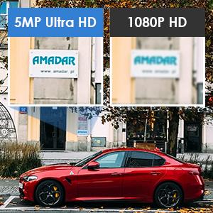 5MP HD Videos