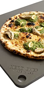 Nerd Chef, pizza stone, steel stone, baking surface, high performance, cooking, oven, stone, steel