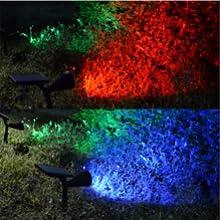 waterproof outdoor colorful lighting