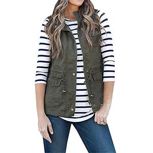 Women's Sleeveless Vest Top