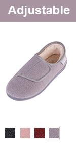 longbay mens diabetic slippers