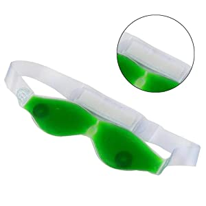 Aloe Vera Cool Eye Mask Summer Ice Cooling Sleeping Mask for Eye Patches Cool Eyes Patch Pads