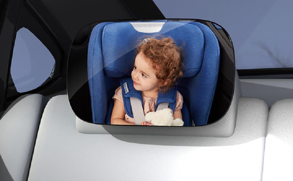 Elimine sus preocupaciones sobre el cuidado de su bebé mientras conduce.