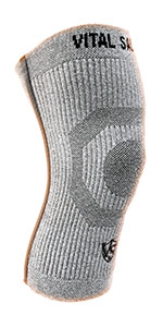 warm compression knee sleeve support recovery germanium bamboo charcoal sports