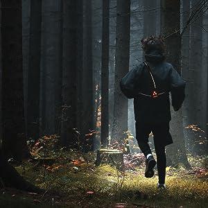 reflective running vest hiking headlamp headlight flashlight head lamp