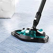 VAPORFORCE BRUSH: FLOORS ARE CLEAN EVEN IN THE CORNERS