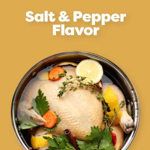 Salt amp; Pepper Flavor
