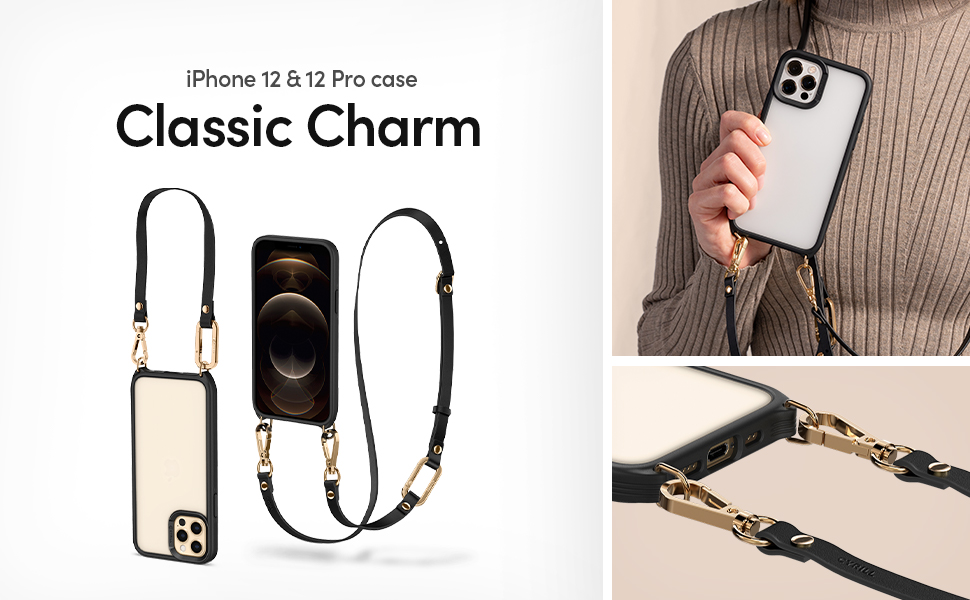 CYRILL iPhone 12 / 12 pro case  - Classic Charm