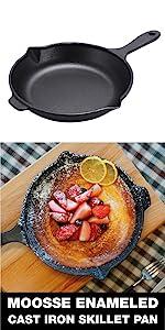 Skillet lightweight light weight cast iron pan enameled cast iron pan enameled cast iron pan