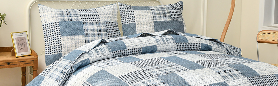 grid quilts