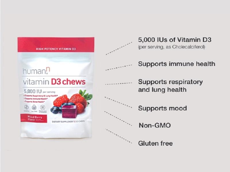 vitamin D3, bone, immune support