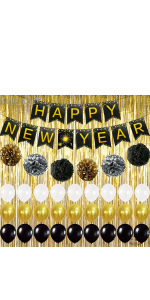 2021 Balloon New Years Eve Party Supplies 2021