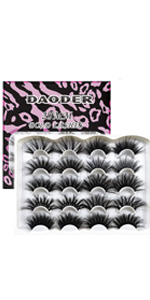 25 mml mink lashes pack