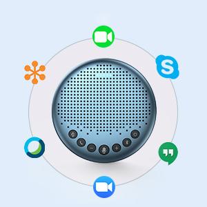eMeet Luna Lite bluetooth speakerphone