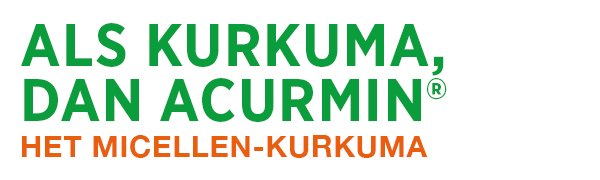 Kurkuma, curcumine, Acurmin, Tumeric, Micellen curcuma