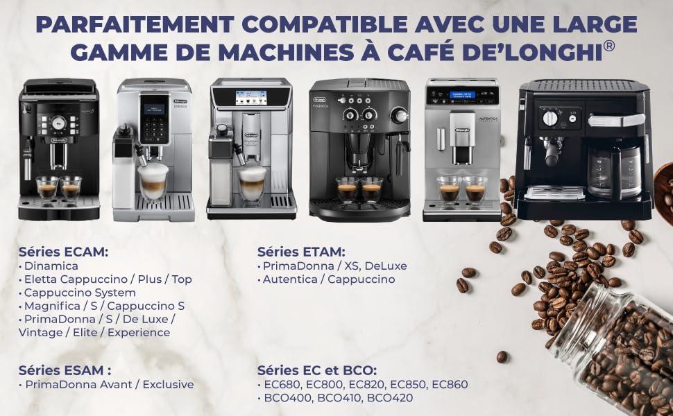 Machines compatibles