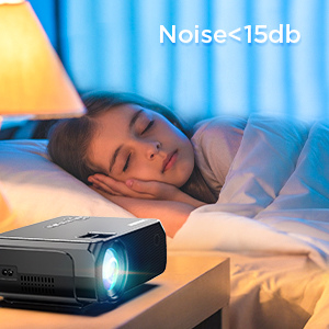 1080P supported projector