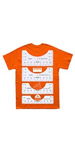 T-shirt Ruler