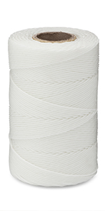 waxed lacing cord white twine string