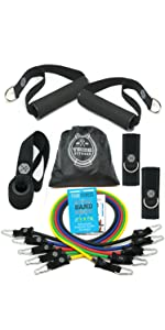 weight sets for home gym free weights dumbbells set resistance bands with handles excersize bands