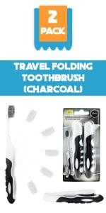 travel toothbrush, toothbrushes, folding, traveling