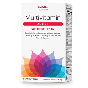 gnc multivitamin active without iron