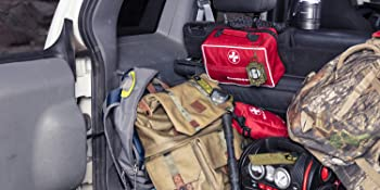 Large First Aid Kit with MOLLE Compatible Snaps and Straps