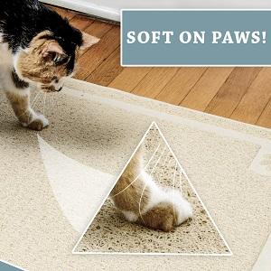 soft paws litter mat