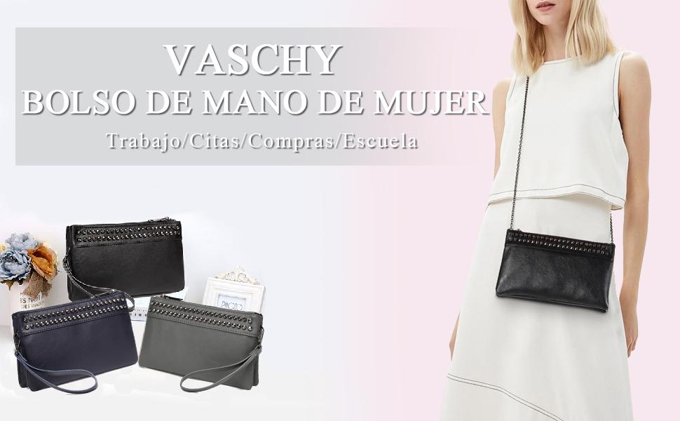 Vaschy Sac Clutches Bolsos