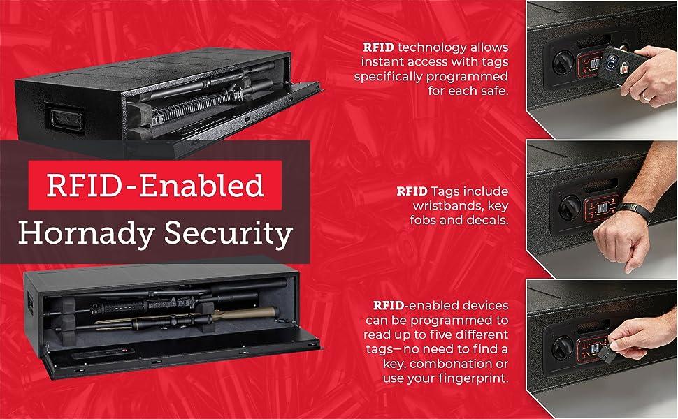 RFID enabled Hornady Security