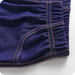 Leggings largos recuerdan al clásico corte de los vaqueros con sus pespuntes decorativo.