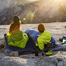 Vecukty Ultralight Camping Sleeping Pad Makes Your Camping More Relax And Comfortable.