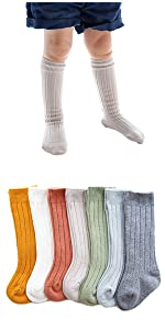 Toddler Baby Knit Cotton Stocking For Winter Spring Fall